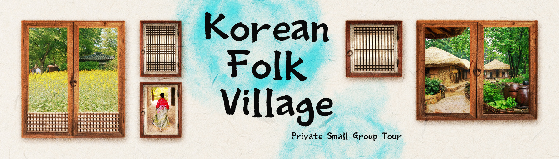 Korean folk village private small group tour